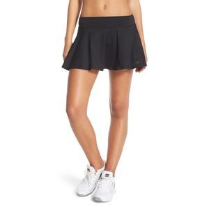 NIKE black baseline tennis skirt black S